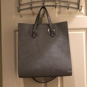 USED ONCE faux leather bag